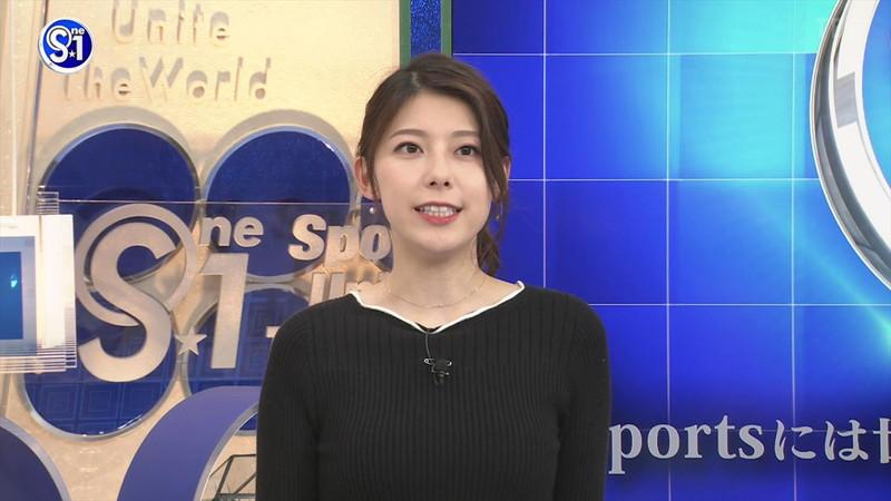 【上村彩子キャプ画像】ビール売り子の経験がある女子アナのノースリーブ姿など 63