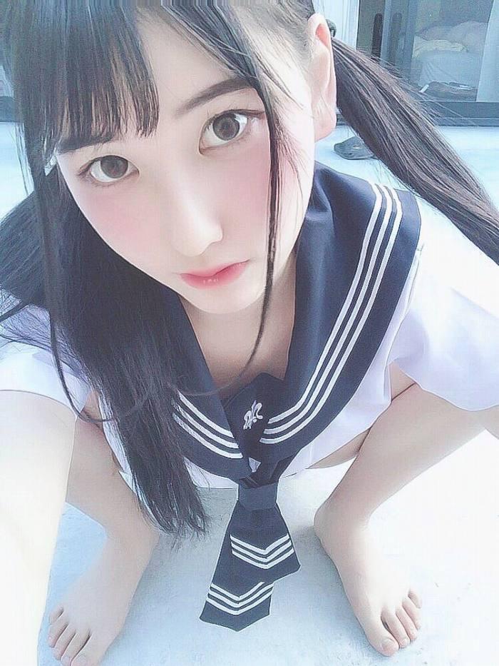 【森嶋あんりエロ画像】コスプレイヤーからデビューした美少女現役JKグラドル 51