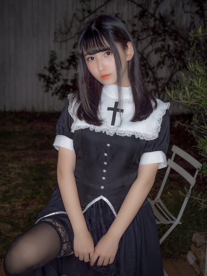【森嶋あんりエロ画像】コスプレイヤーからデビューした美少女現役JKグラドル 67