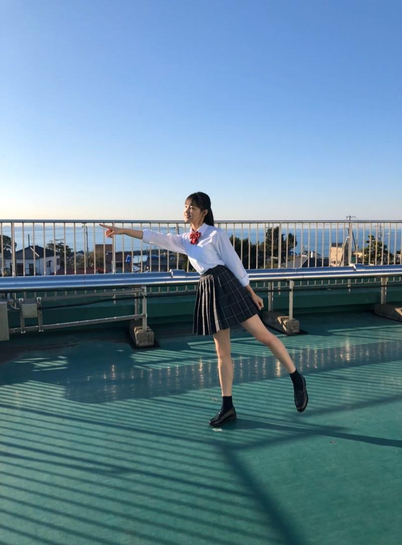 【吉澤遥奈エロ画像】令和最初のミスヤンマガが披露するFカップボディ! 33