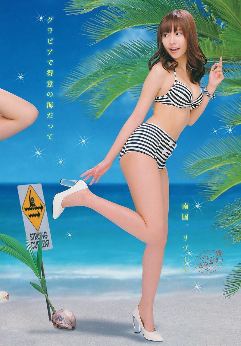 【佐野ひなこグラビア画像】相変わらずエロいFカップ巨乳ボディが眩しすぎる! 50
