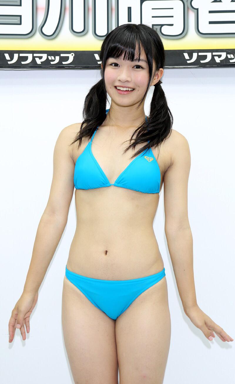 【百川晴香グラビア画像】全力少女Rでリーダーやってる現役アイドルのお宝写真 34