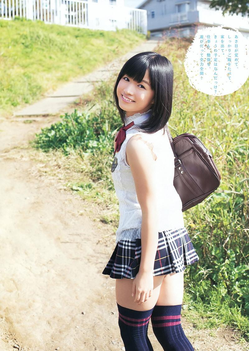 【百川晴香グラビア画像】全力少女Rでリーダーやってる現役アイドルのお宝写真 75