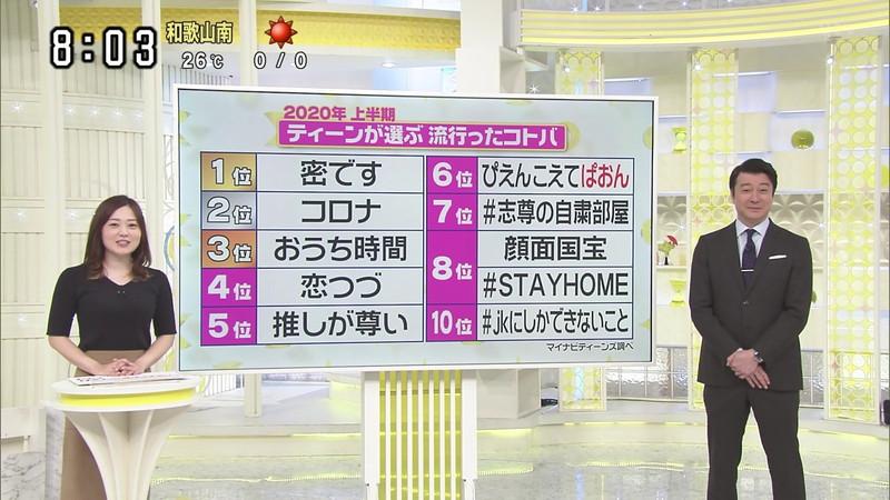 【水卜麻美キャプ画像】日テレ人気女子アナのニット越しオッパイと疑似フェラ! 21