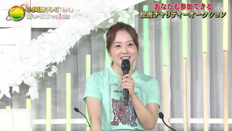 【水卜麻美キャプ画像】日テレ人気女子アナのニット越しオッパイと疑似フェラ! 53
