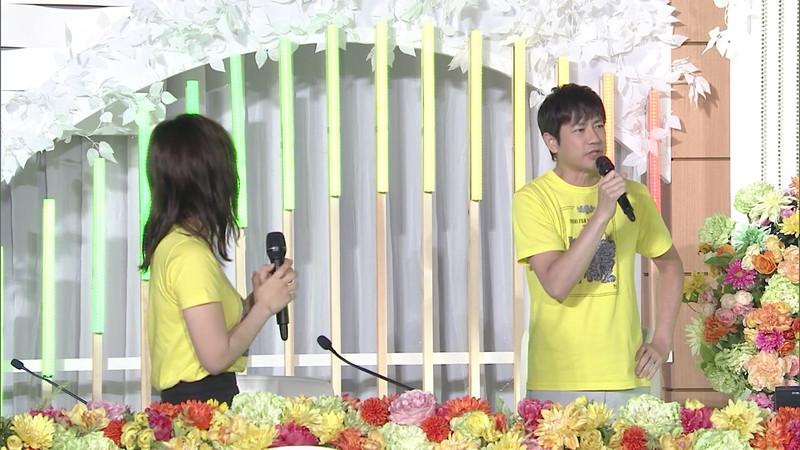 【水卜麻美キャプ画像】日テレ人気女子アナのニット越しオッパイと疑似フェラ! 59