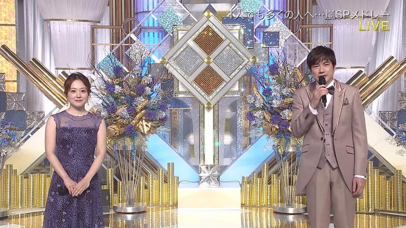 【水卜麻美キャプ画像】日テレ人気女子アナのニット越しオッパイと疑似フェラ! 70
