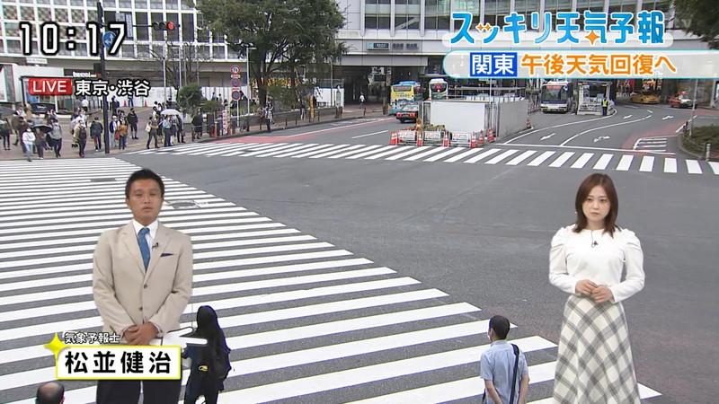 【水卜麻美キャプ画像】日テレ人気女子アナのニット越しオッパイと疑似フェラ! 78