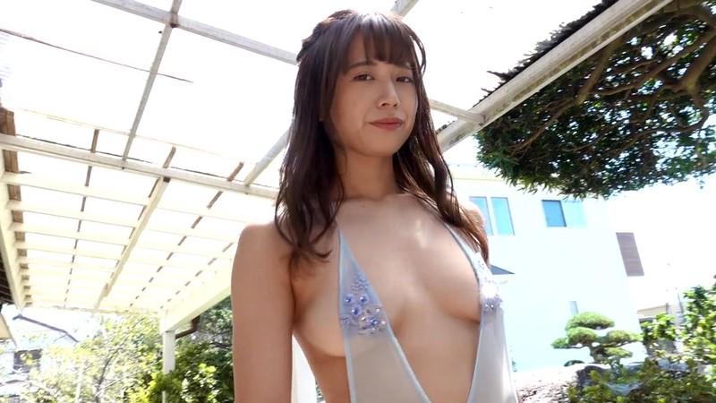 【桜りんキャプ画像】Fカップ巨乳とどっしり巨尻のエロボディが迫る! 10