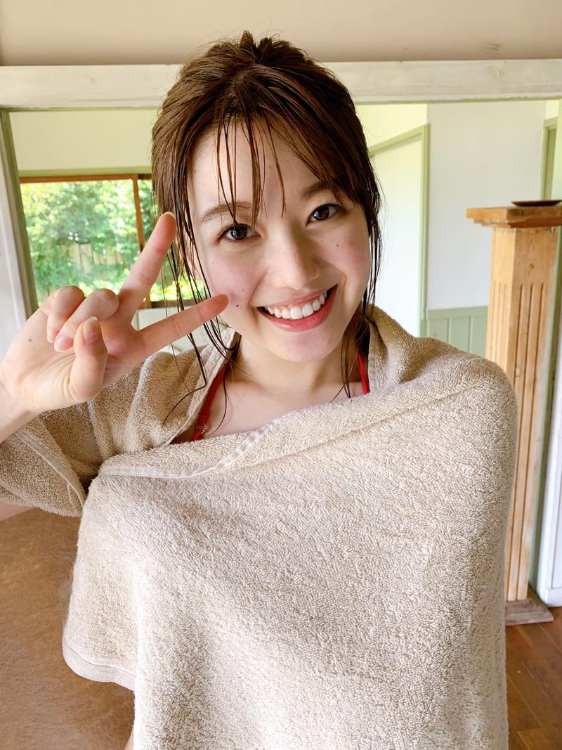 【萩田帆風エロ画像】女子高生ミスコン準グランプリの笑顔が可愛い女の子 03