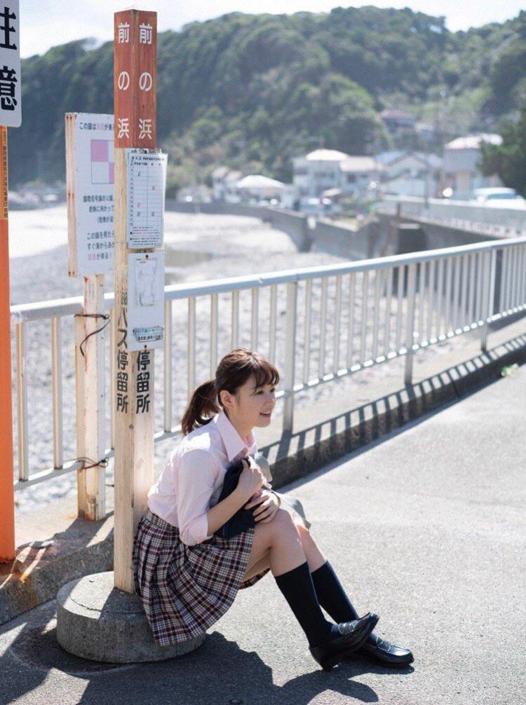 【萩田帆風エロ画像】女子高生ミスコン準グランプリの笑顔が可愛い女の子 10