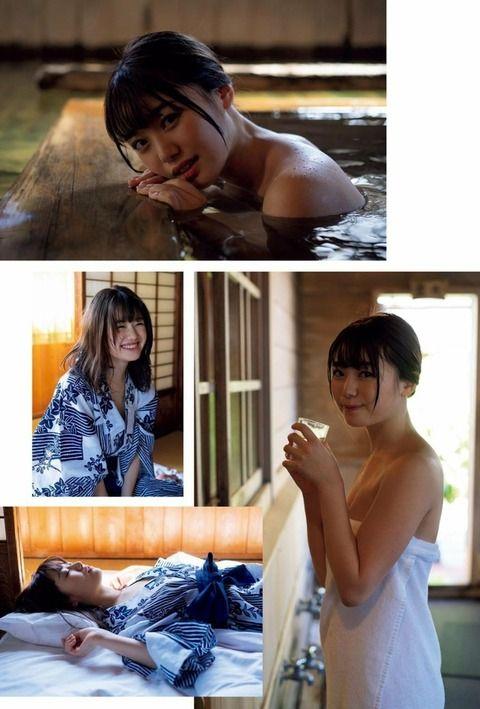【萩田帆風エロ画像】女子高生ミスコン準グランプリの笑顔が可愛い女の子 19