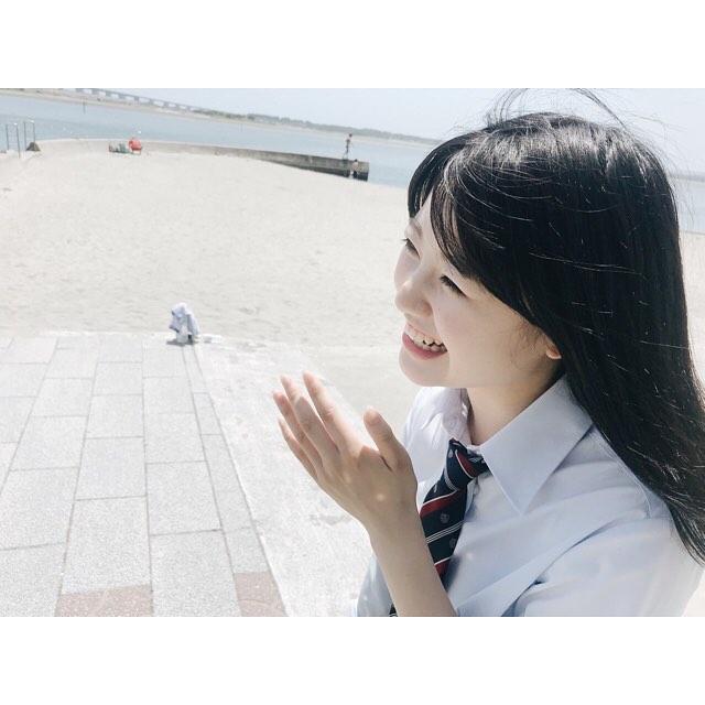 【萩田帆風エロ画像】女子高生ミスコン準グランプリの笑顔が可愛い女の子 40