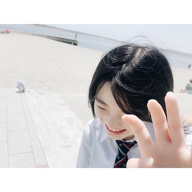 【萩田帆風エロ画像】女子高生ミスコン準グランプリの笑顔が可愛い女の子 41