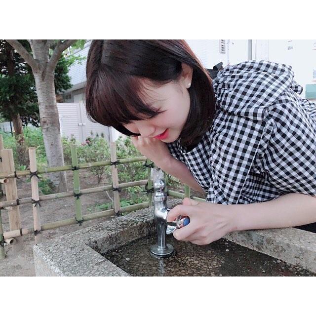【萩田帆風エロ画像】女子高生ミスコン準グランプリの笑顔が可愛い女の子 43