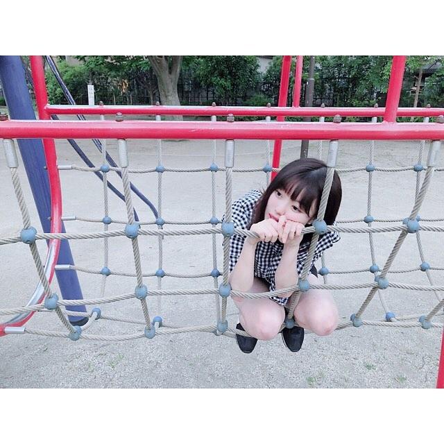 【萩田帆風エロ画像】女子高生ミスコン準グランプリの笑顔が可愛い女の子 44