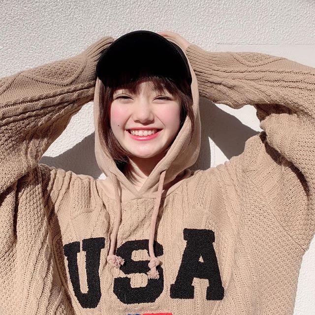 【萩田帆風エロ画像】女子高生ミスコン準グランプリの笑顔が可愛い女の子 69