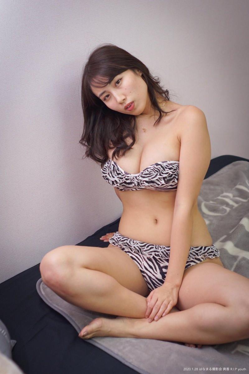 【爽香キャプ画像】ぼん!きゅ!ぼん!のスタイル抜群な長身巨乳グラドル 80