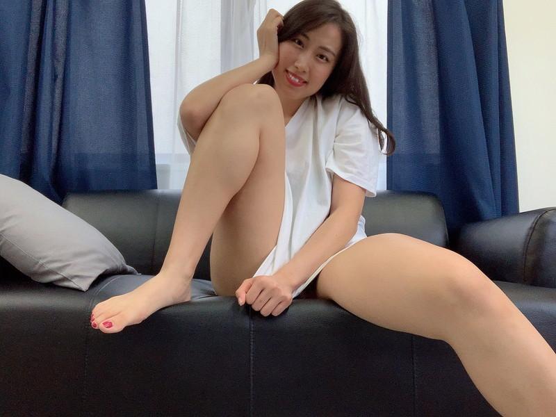 【爽香キャプ画像】ぼん!きゅ!ぼん!のスタイル抜群な長身巨乳グラドル 85