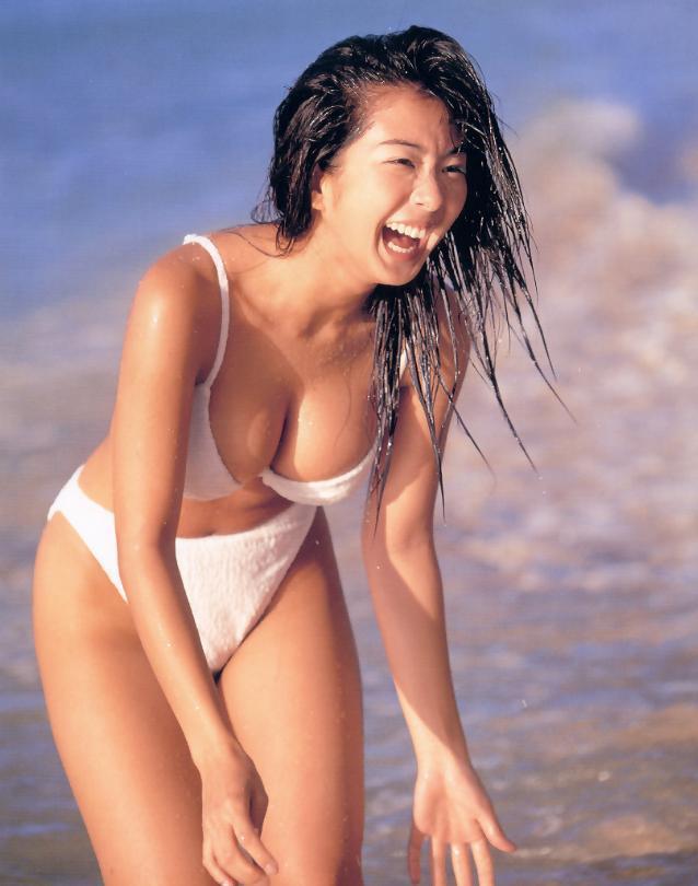 【優香お宝画像】元祖癒やし系グラドルの形良いオッパイがめちゃエロ! 67