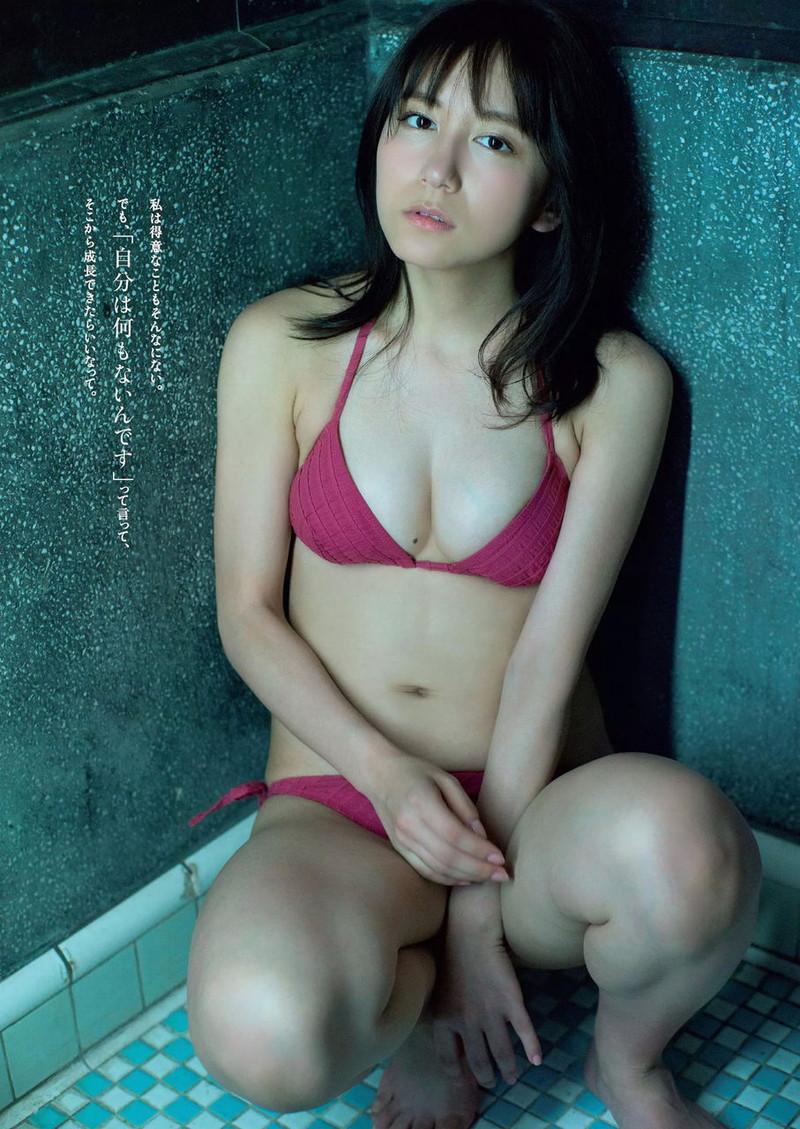 【大場美奈グラビア画像】エロいビキニ姿を披露してファンのチンコが硬くなる! 58