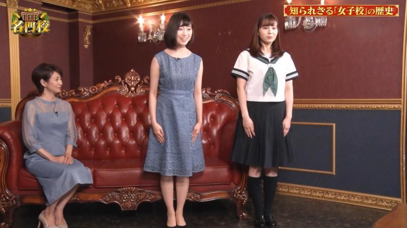 【角谷暁子キャプ画像】テレビ東京の女子アナがセーラー服コスプレしてるwwww 04
