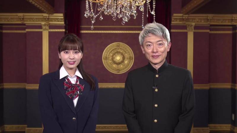 【角谷暁子キャプ画像】テレビ東京の女子アナがセーラー服コスプレしてるwwww 21