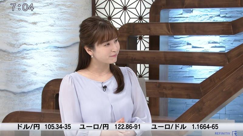【角谷暁子キャプ画像】テレビ東京の女子アナがセーラー服コスプレしてるwwww 33
