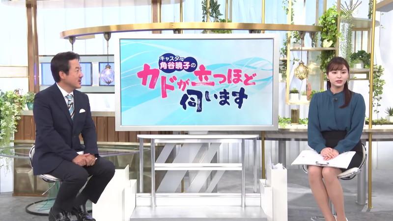 【角谷暁子キャプ画像】テレビ東京の女子アナがセーラー服コスプレしてるwwww 39