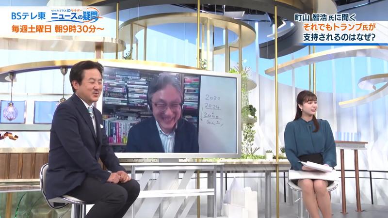 【角谷暁子キャプ画像】テレビ東京の女子アナがセーラー服コスプレしてるwwww 40