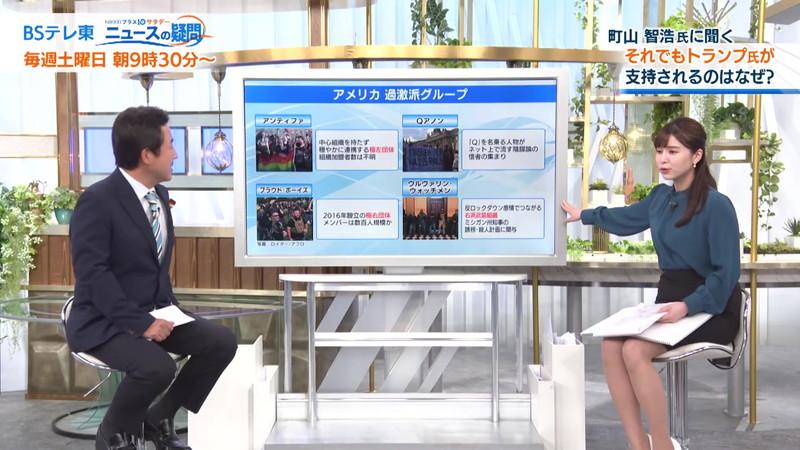 【角谷暁子キャプ画像】テレビ東京の女子アナがセーラー服コスプレしてるwwww 48