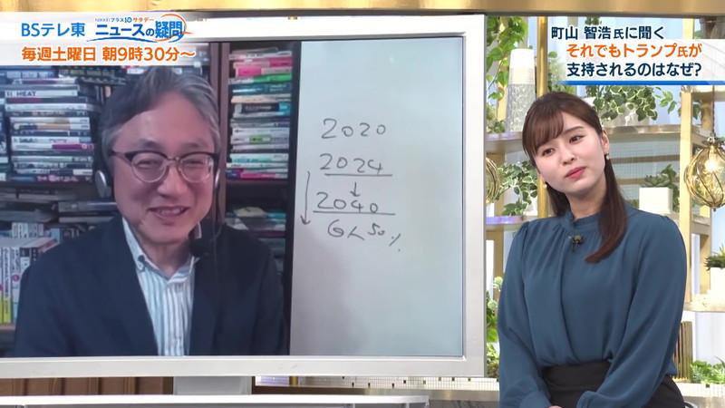 【角谷暁子キャプ画像】テレビ東京の女子アナがセーラー服コスプレしてるwwww 49