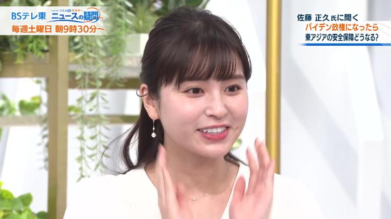 【角谷暁子キャプ画像】テレビ東京の女子アナがセーラー服コスプレしてるwwww 58