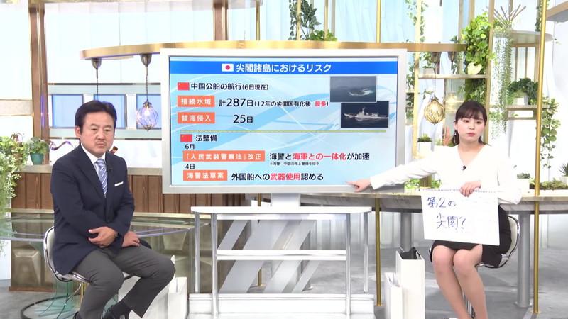 【角谷暁子キャプ画像】テレビ東京の女子アナがセーラー服コスプレしてるwwww 59