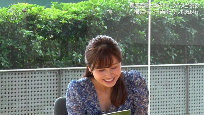 【角谷暁子キャプ画像】テレビ東京の女子アナがセーラー服コスプレしてるwwww 71