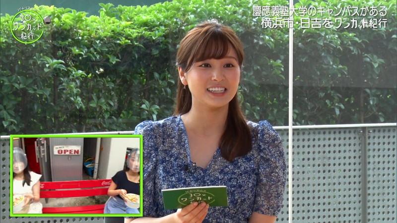 【角谷暁子キャプ画像】テレビ東京の女子アナがセーラー服コスプレしてるwwww 77