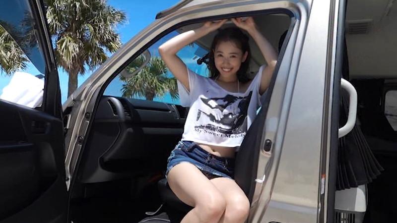 【泉玲菜キャプ画像】美人モデルが初めてグラビアとイメージに挑戦した姿がコレだっ 10