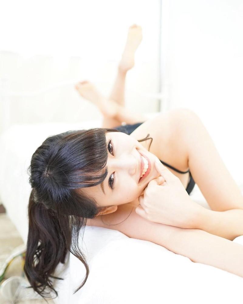 【泉玲菜キャプ画像】美人モデルが初めてグラビアとイメージに挑戦した姿がコレだっ 62