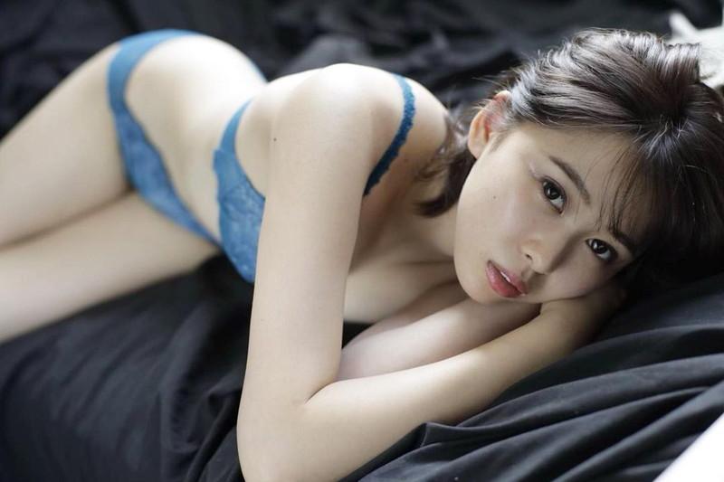 【泉玲菜キャプ画像】美人モデルが初めてグラビアとイメージに挑戦した姿がコレだっ 65