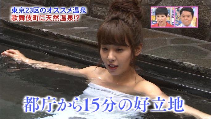 【山田菜々キャプ画像】温泉レポートや始球式等など元アイドルのお宝シーン