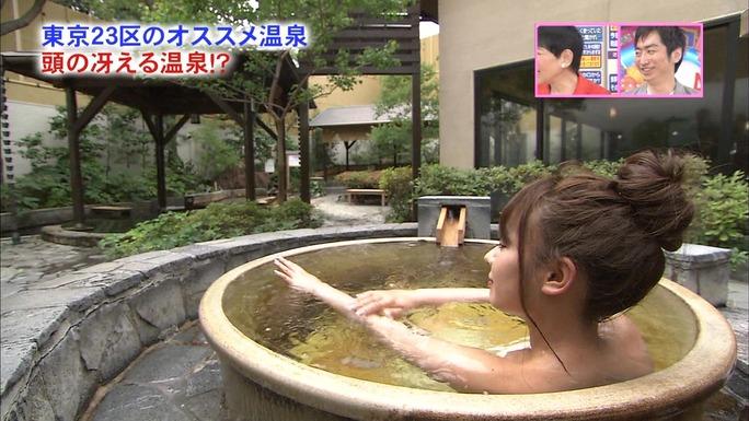 【山田菜々キャプ画像】温泉レポートや始球式等など元アイドルのお宝シーン 06