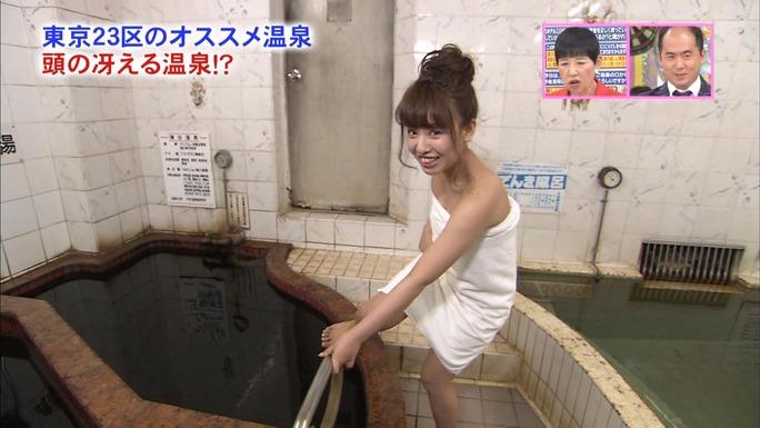 【山田菜々キャプ画像】温泉レポートや始球式等など元アイドルのお宝シーン 08