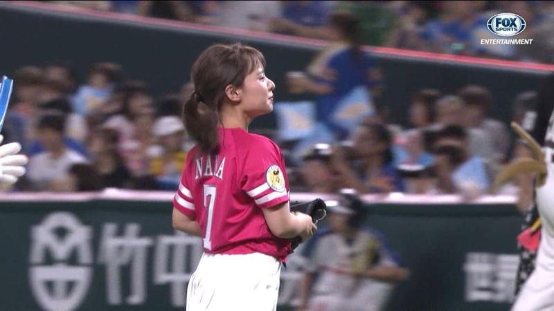 【山田菜々キャプ画像】温泉レポートや始球式等など元アイドルのお宝シーン 18