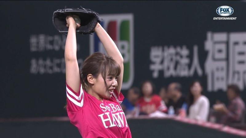 【山田菜々キャプ画像】温泉レポートや始球式等など元アイドルのお宝シーン 25