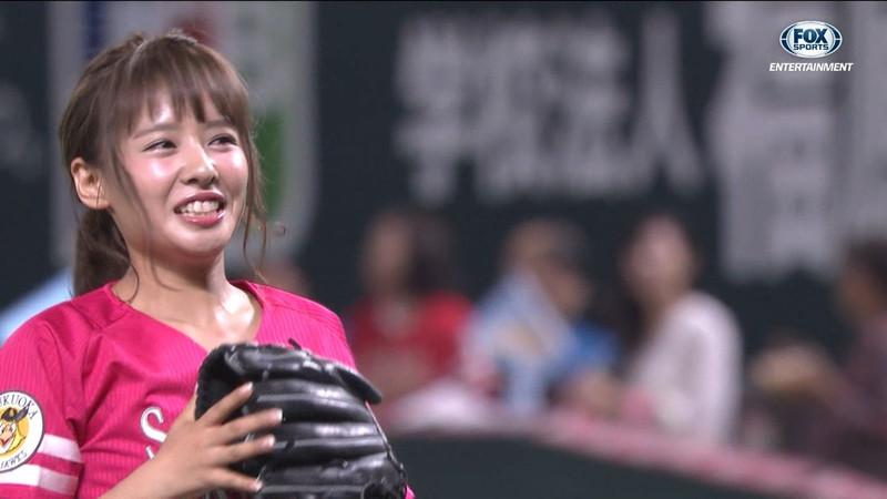 【山田菜々キャプ画像】温泉レポートや始球式等など元アイドルのお宝シーン 29