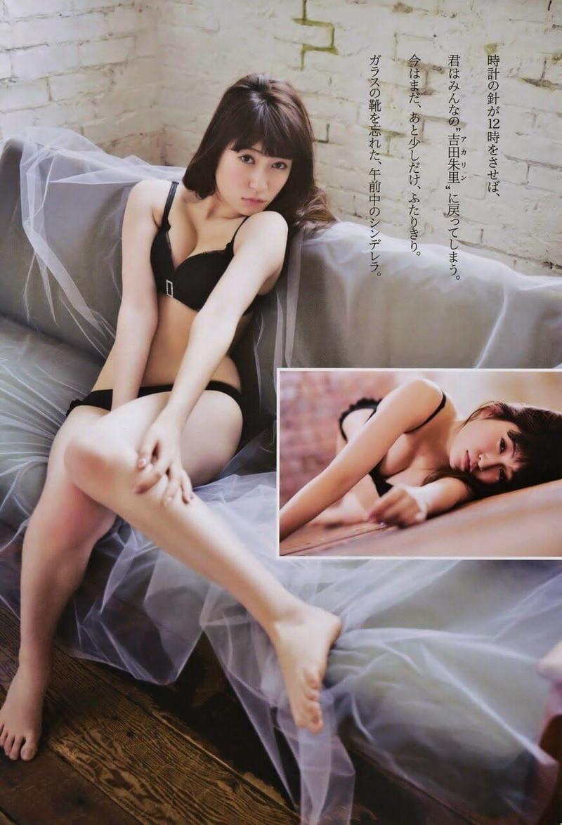 【吉田朱里エロ画像】NMB48からの卒業を発表した美人アイドルのお宝画像 67