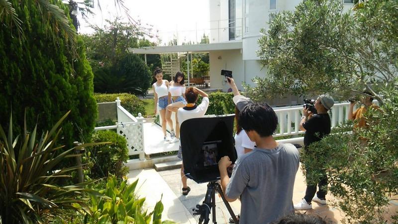 【エリカ・マリナグラビア画像】TikTokでブレイクしたハーフ美人JK姉妹の水着エロ画像 16