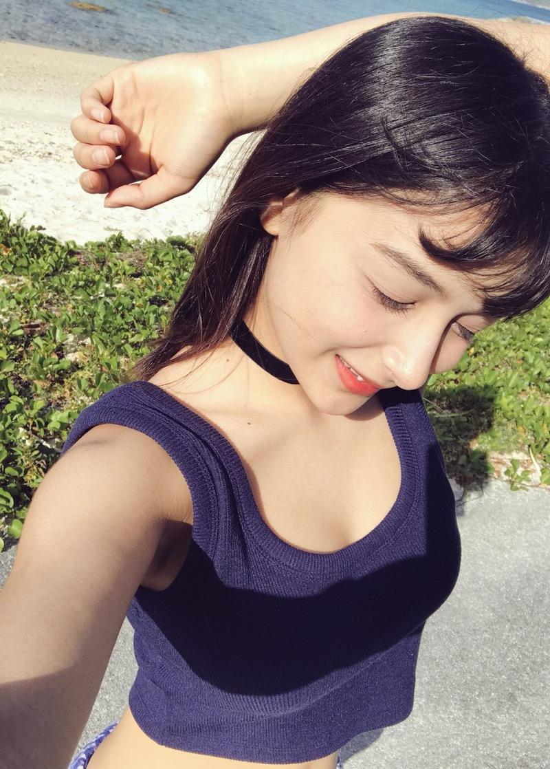 【エリカ・マリナグラビア画像】TikTokでブレイクしたハーフ美人JK姉妹の水着エロ画像 56