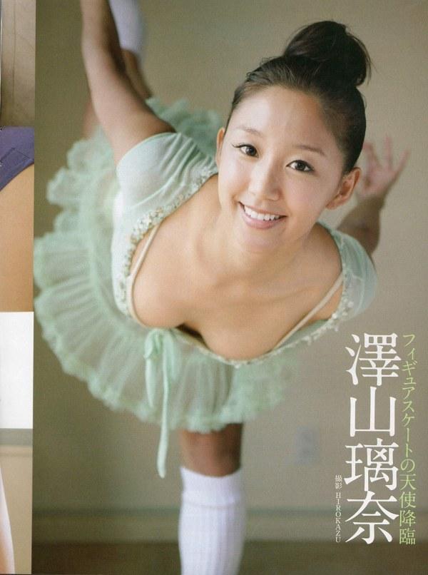 【澤山璃奈エロ画像】スケートで鍛えた美ボディを三十路でも見せまくり! 23