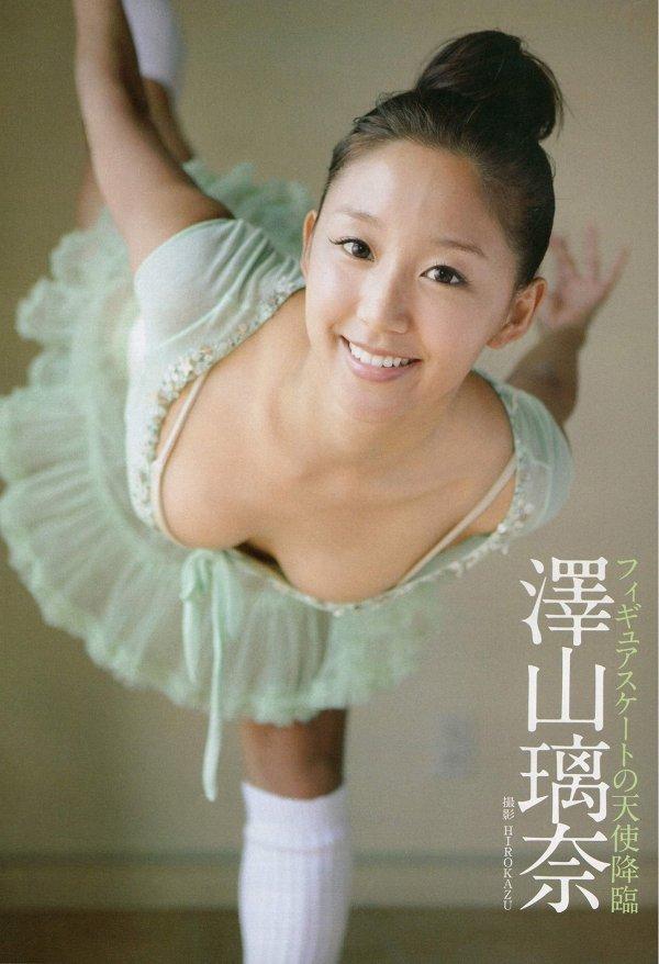 【澤山璃奈エロ画像】スケートで鍛えた美ボディを三十路でも見せまくり! 48
